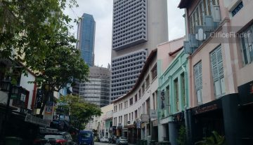 Boat Quay Shophouse Office
