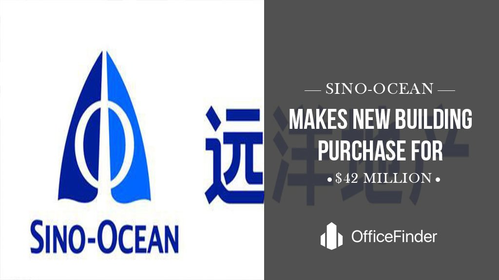 Sino-Ocean Makes New Building Purchase For $42 Million