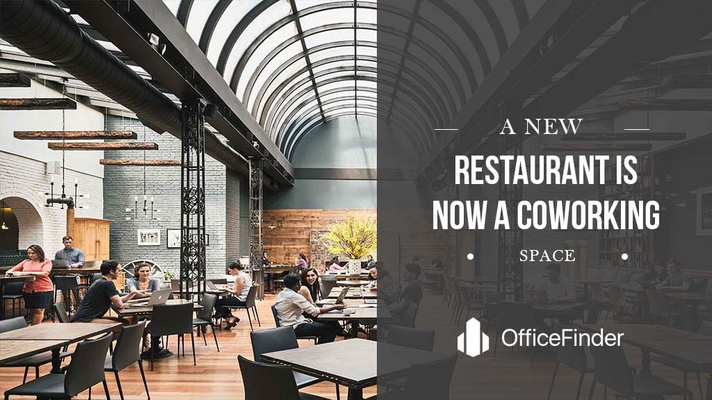 A New Restaurant Is Now A Coworking Space