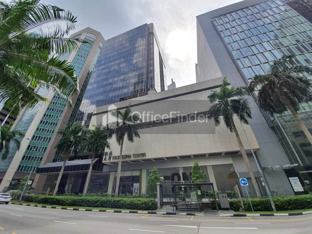 Keck Seng Tower Office for rent