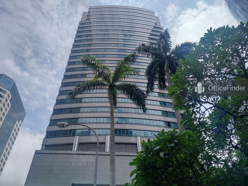 Office Space Near Raffles MRT Station| Prudential Tower