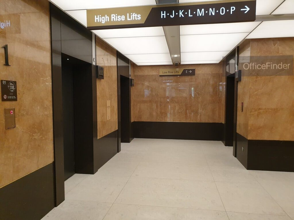 Republic Plaza Lobby