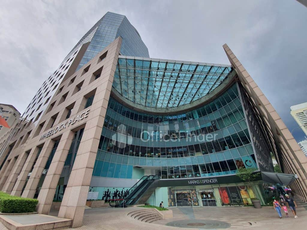 Wheelock Place Office for Rent