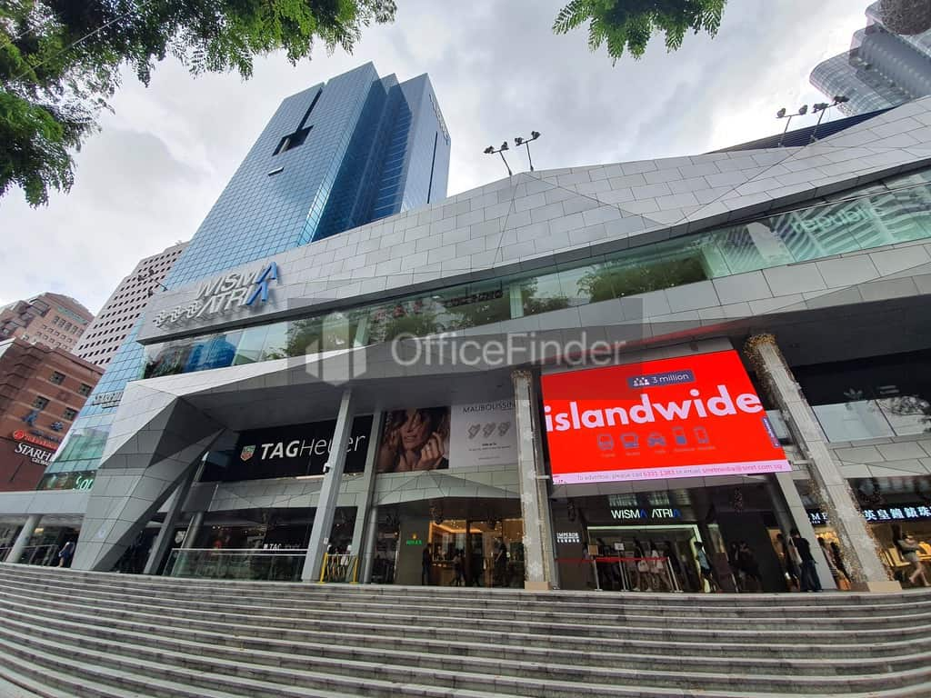 Wisma Atria Office for rent