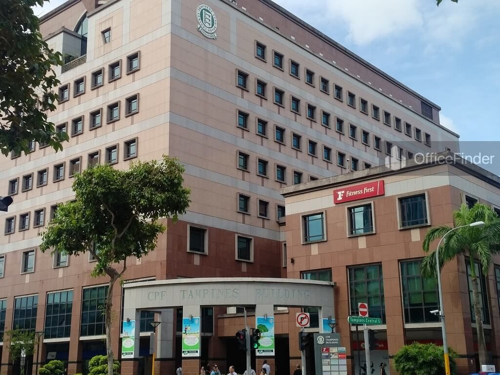 CPF Tampines Building Office Space