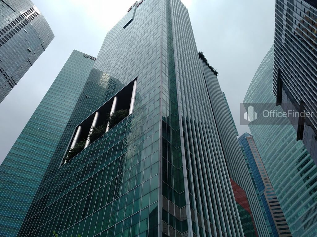 Office Space Near Raffles MRT Station| One Marina Boulevard