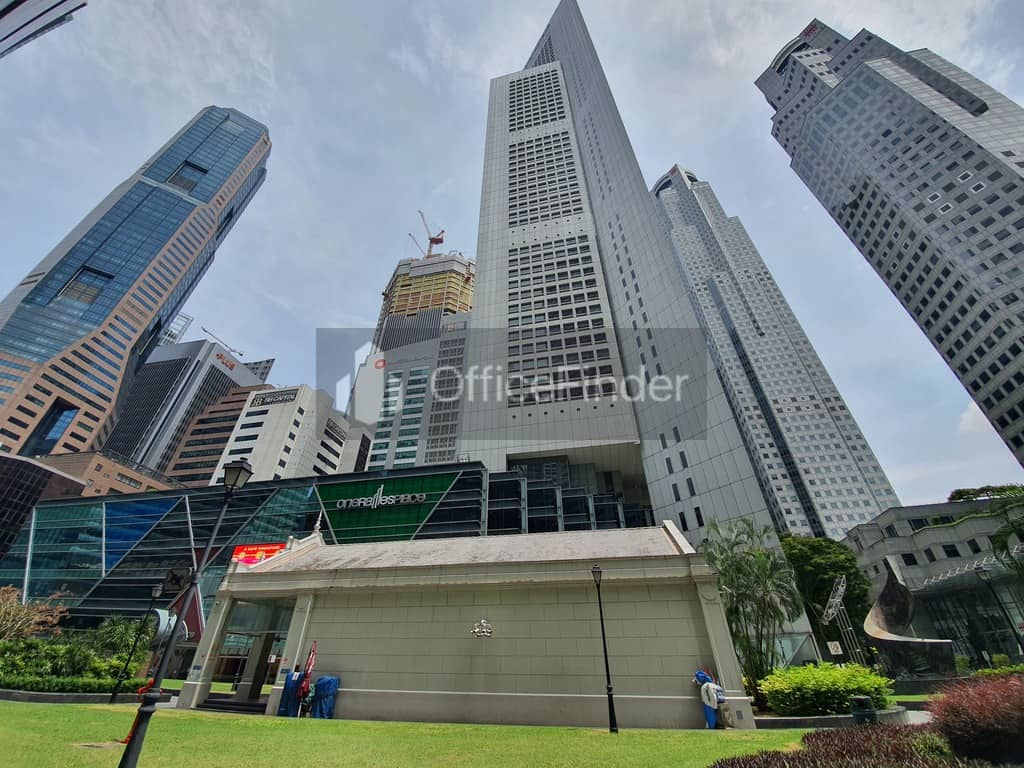 One Raffles Place Office for Rent