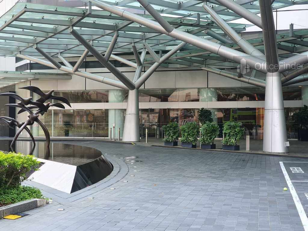 Raffles City Tower Drop off Area