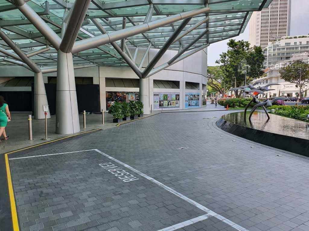 Raffles City Tower Office Drop Off Area