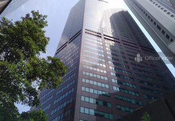 Office Space Near Raffles MRT Station| Six Battery Road