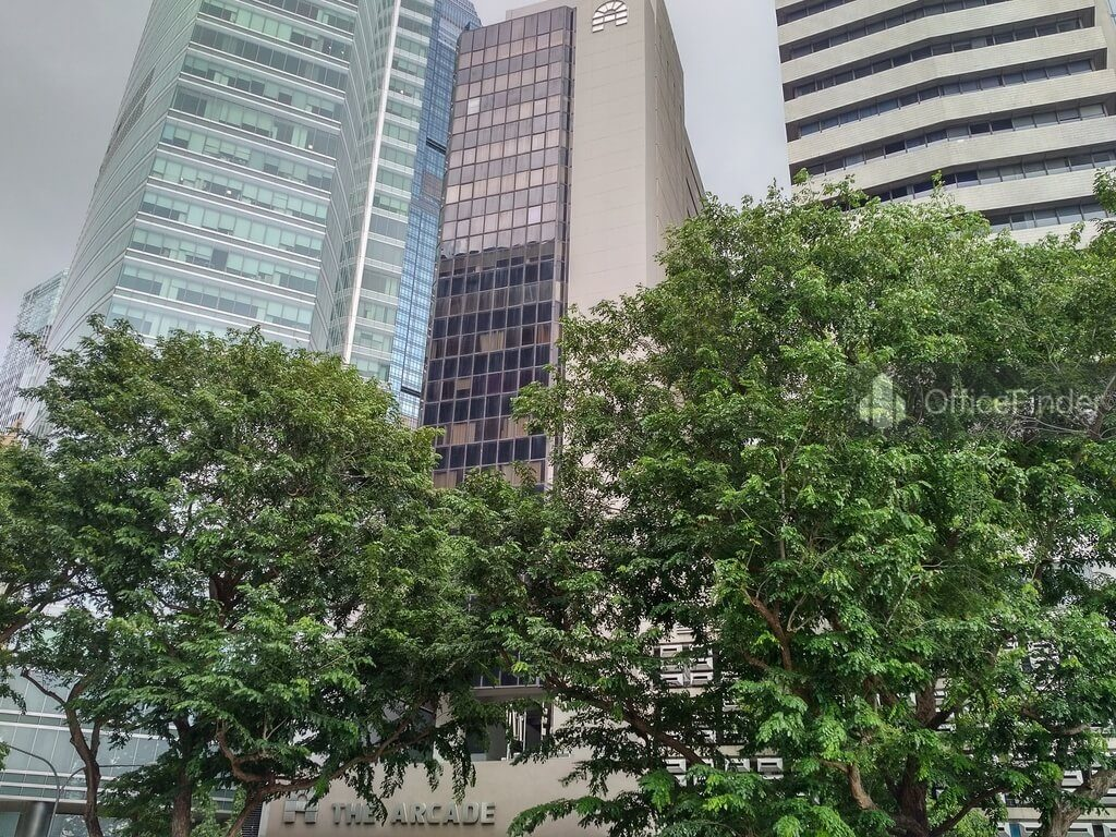 Office Space Near Raffles MRT Station| The Arcade