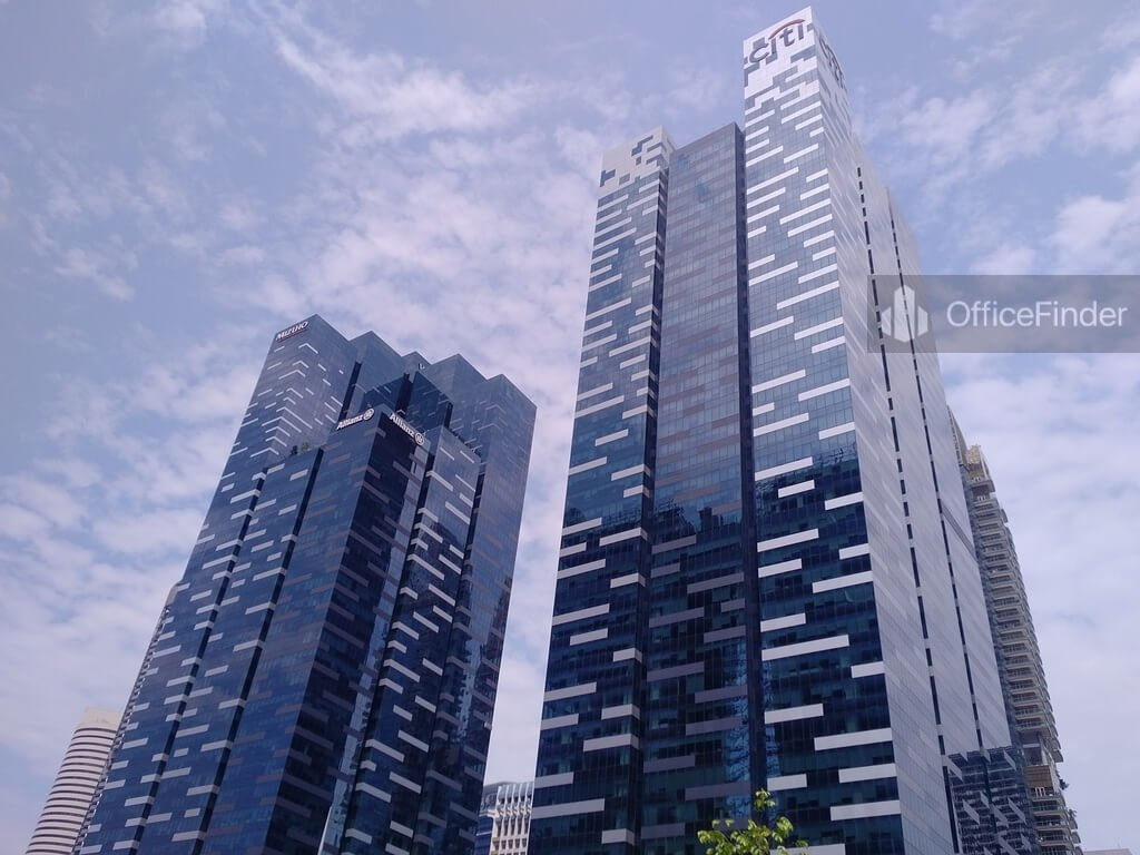 Asia Square Office in CBD