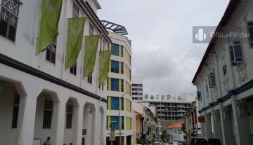 Bukit Pasoh Shophouse Office