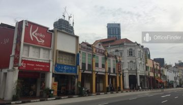 Chinatown Shophouse Office