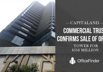 Capitaland commercial trust confirms sale of office tower for $516M