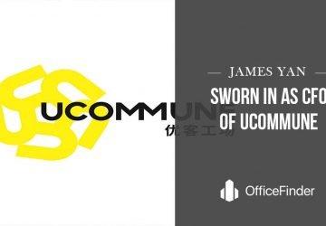 James Yan Sworn In As CFO Of Ucommune