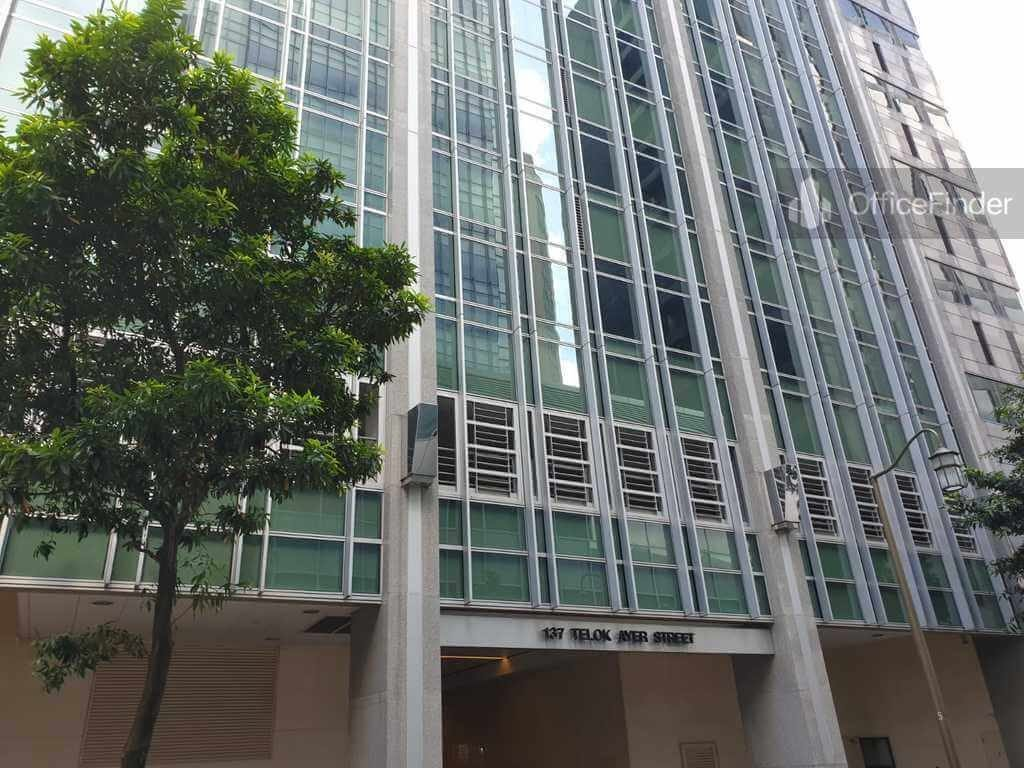 137 Telok Ayer Office Space for Rent
