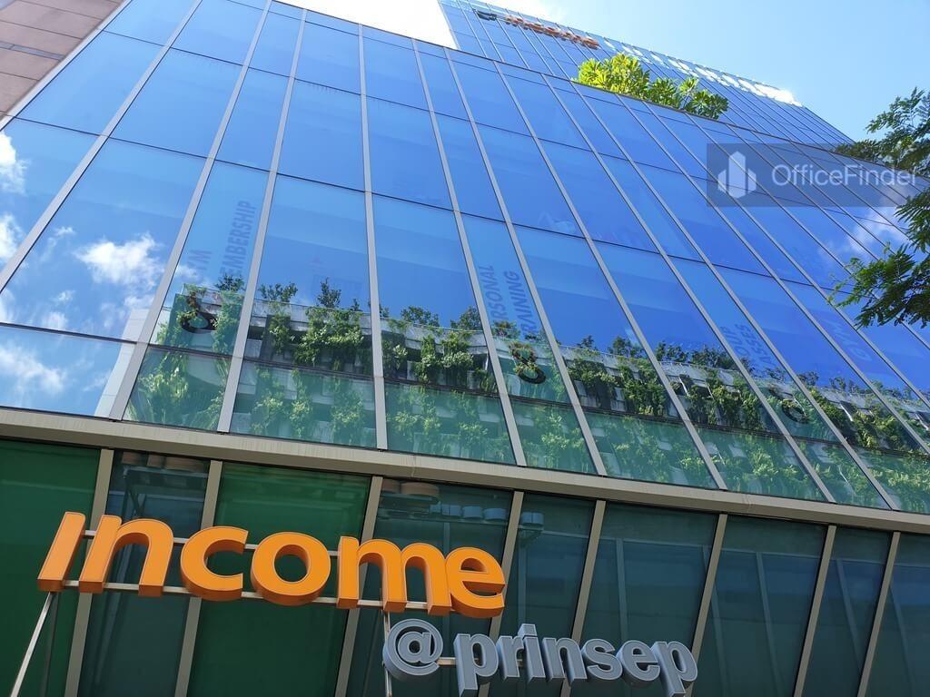 Income @ Prinsep Building