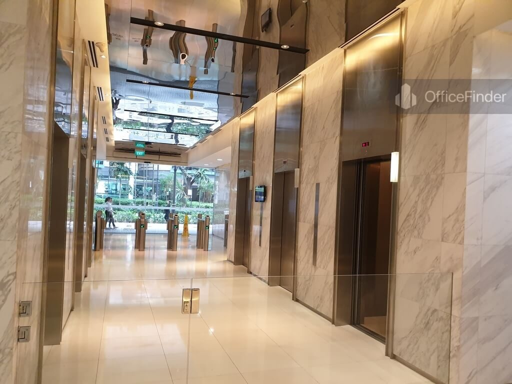 51 Bras Basah Road Office Lift Lobby