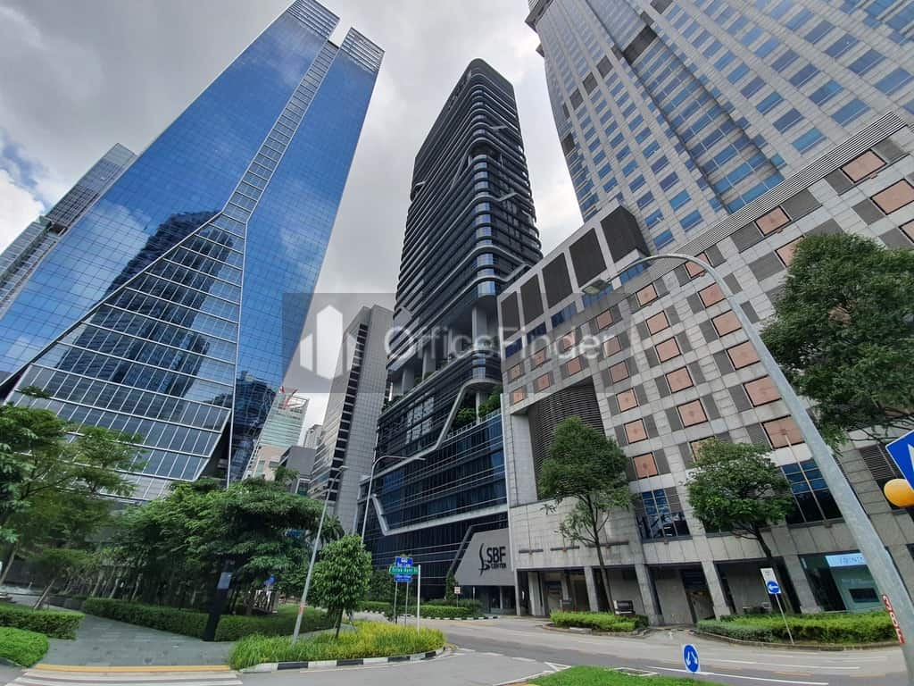 Frasers Tower, SBF Center and Capital Tower Office for rent