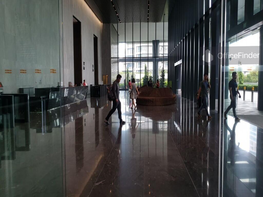 Mapletree Business City II Main Lobby