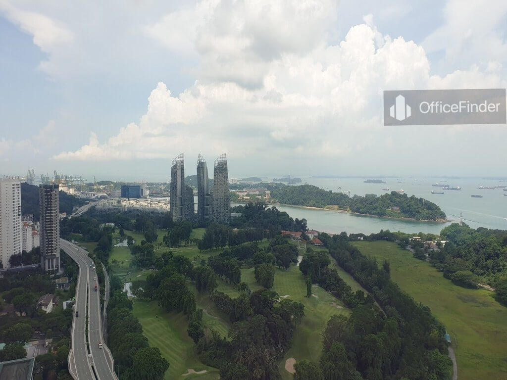 View from Mapletree Business City II