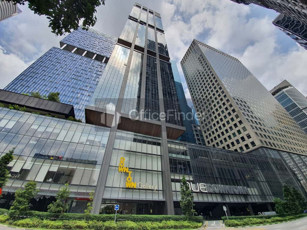OUE Downtown office for rent