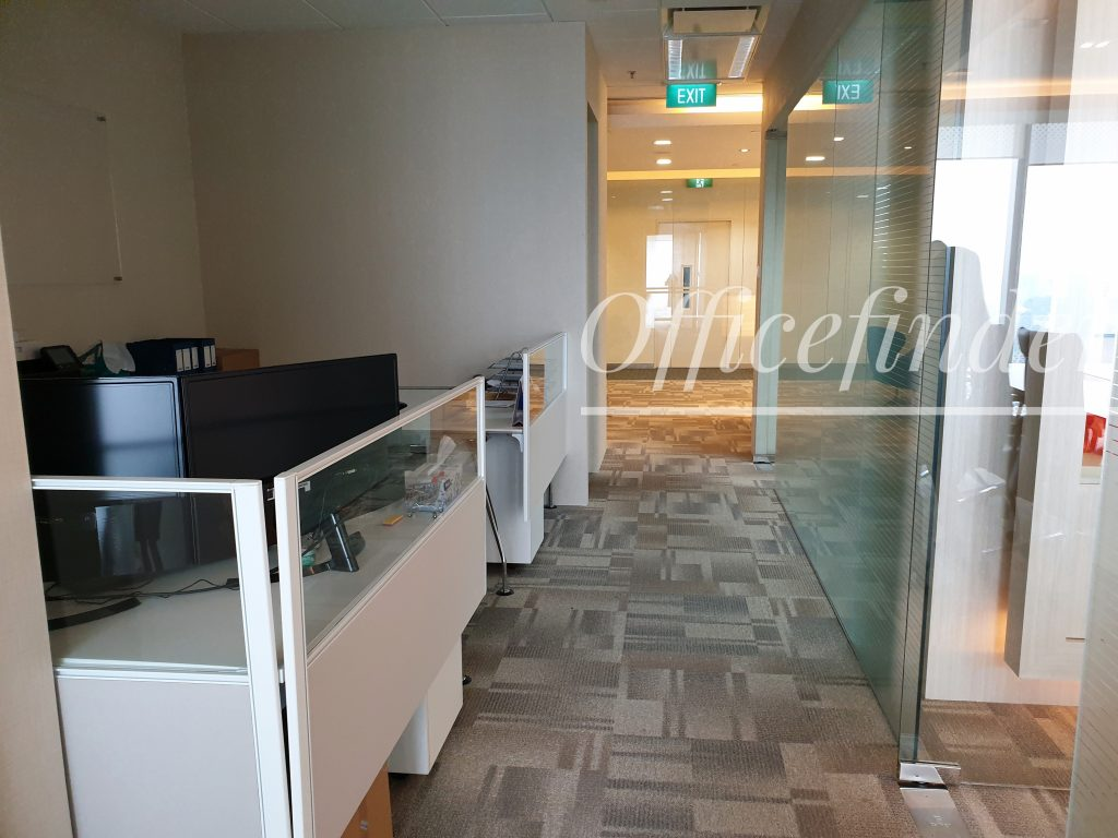 One Raffles Place Office Workspace