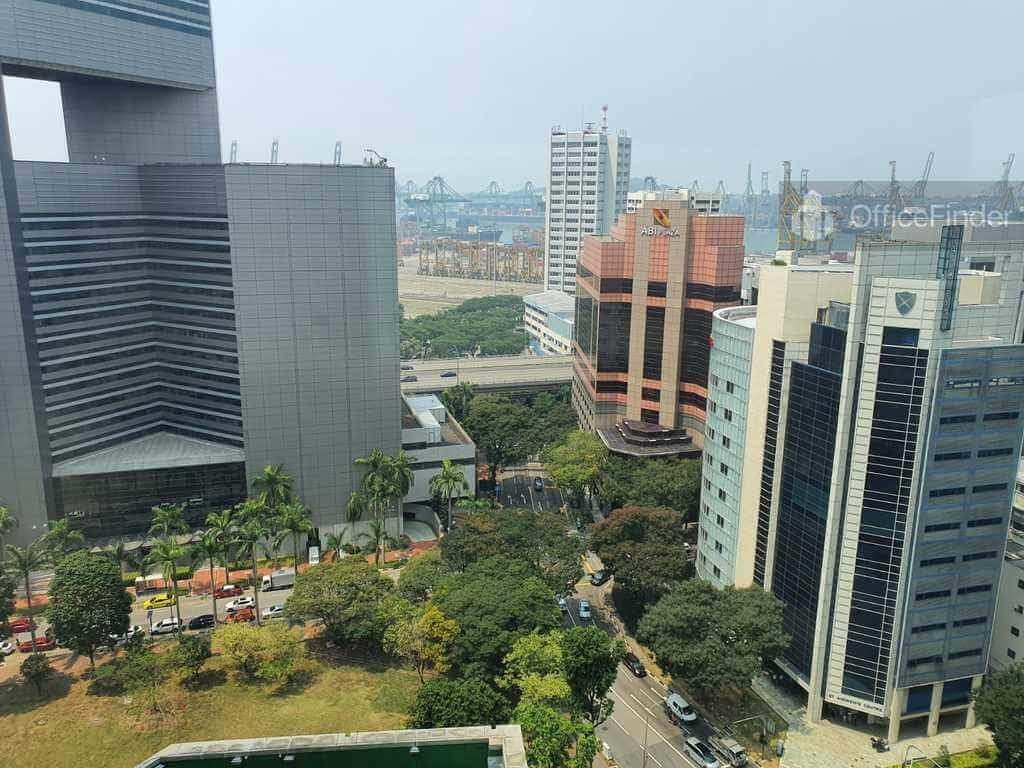 View from Amara Corporate Tower