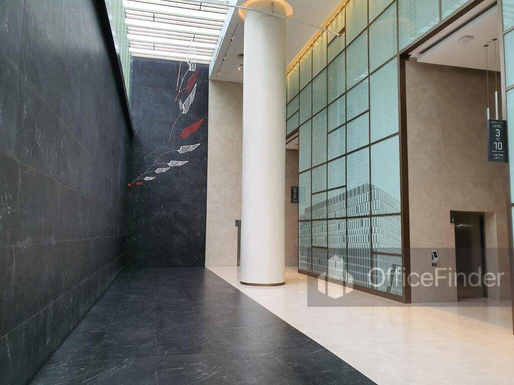Galaxis Lift Lobby