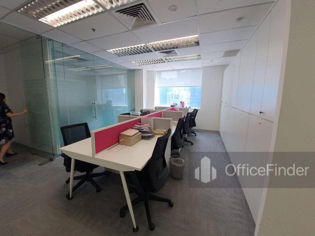 One Raffles Place Office Space
