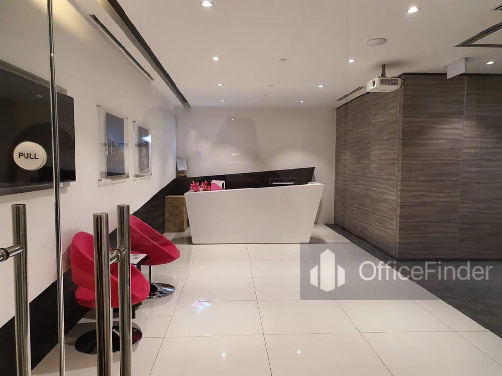 Lobby of an Office Space for Rent in One Raffles Place