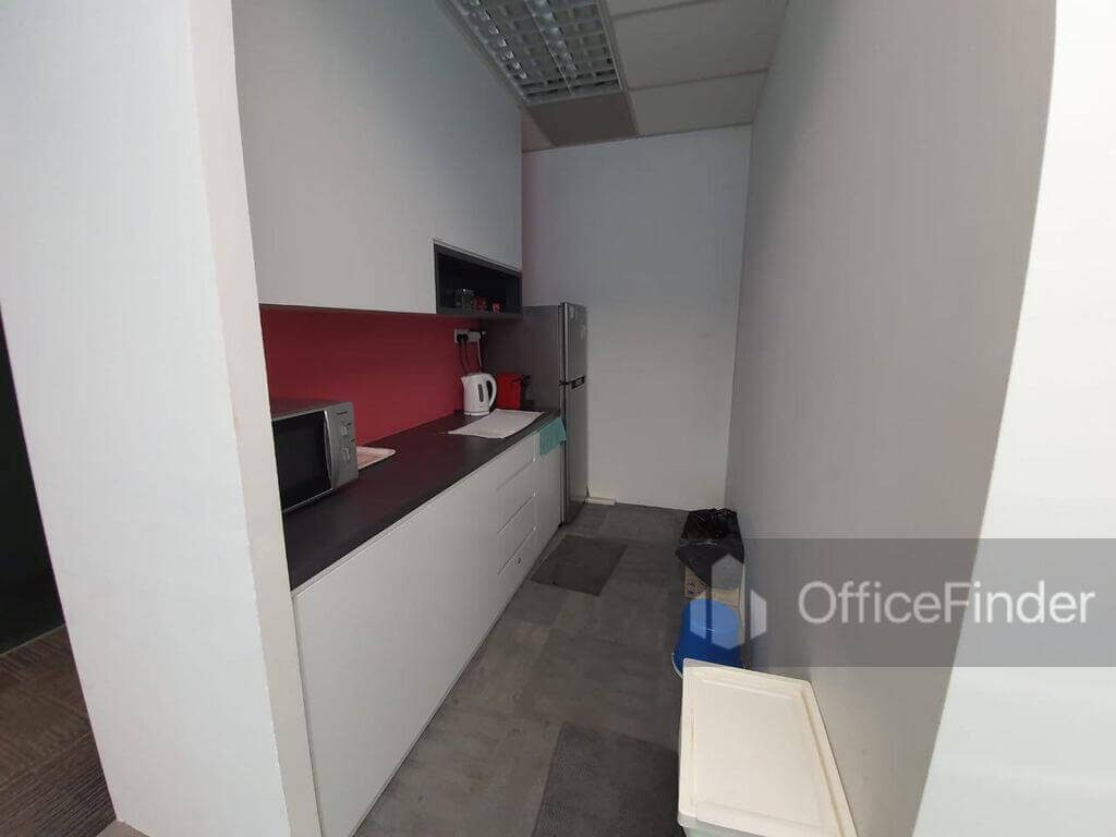 One Raffles Place Office Space Pantry