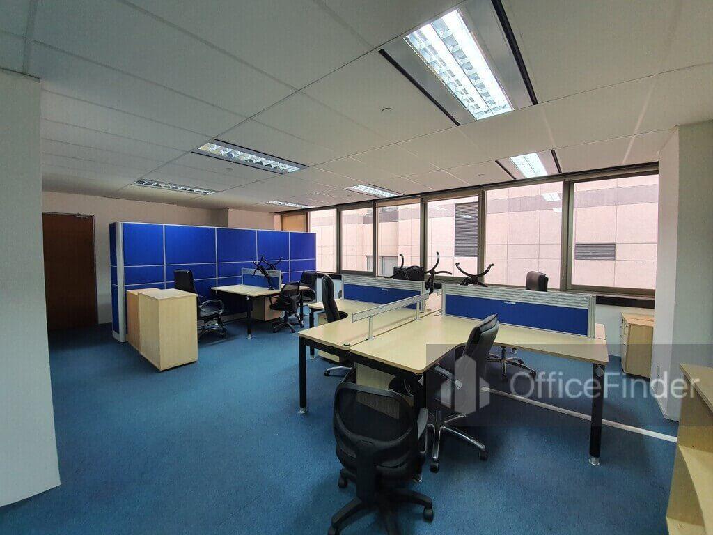 Keck Seng Tower Office Space for Rent Workstation