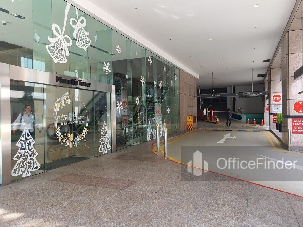 Manulife Tower 8 cross street office for rent
