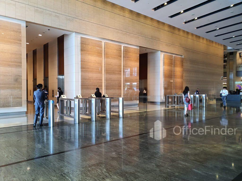 Marina Bay Financial Centre Lift Lobby MBFC