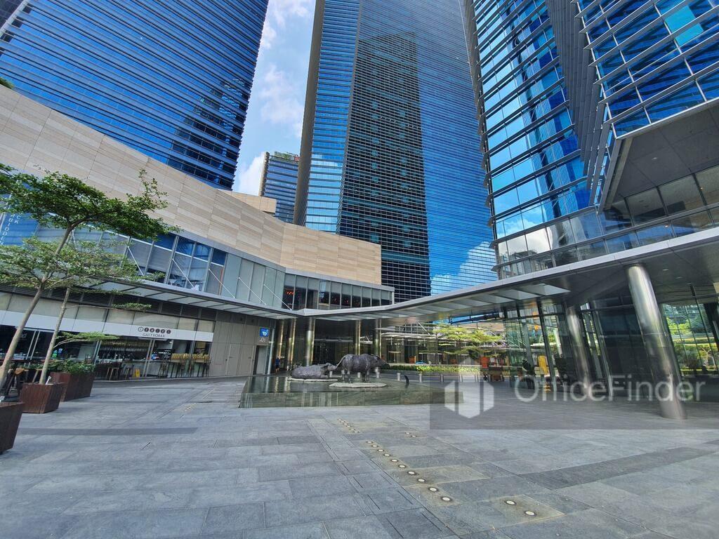 Marina Bay Financial Centre Outside Lobby MBFC