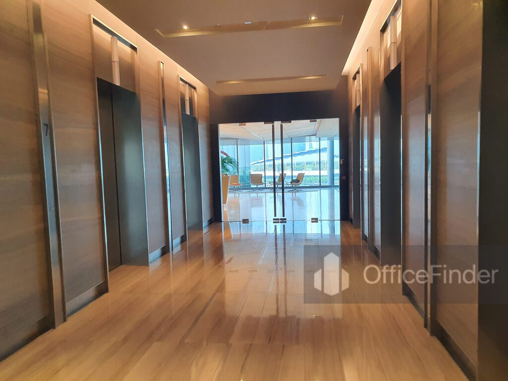 OUE Bayfront Lift Lobby