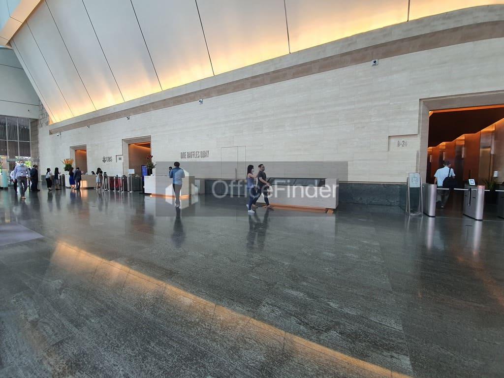 One Raffles Quay Lobby