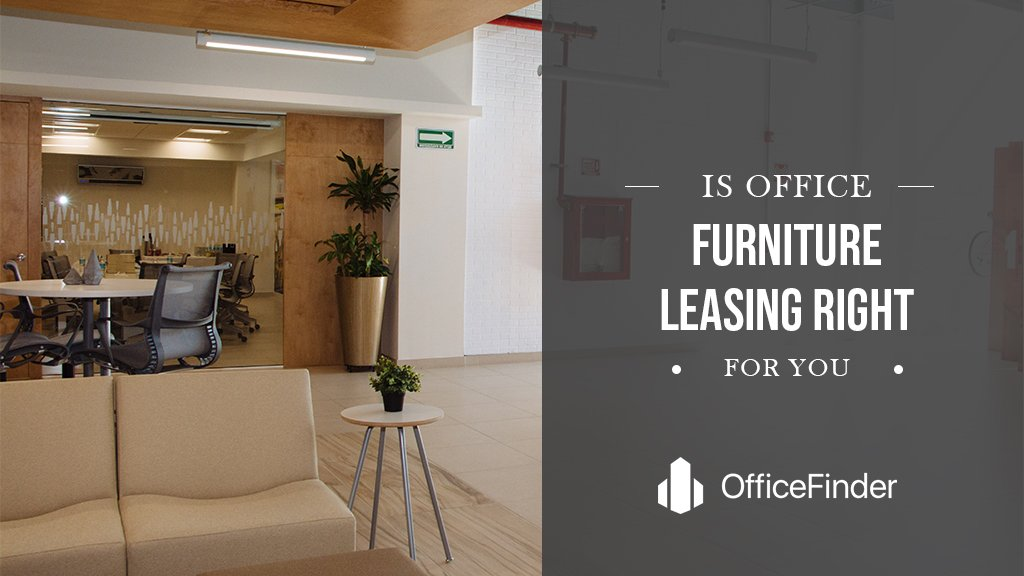 Is Office Furniture Leasing Right For You?