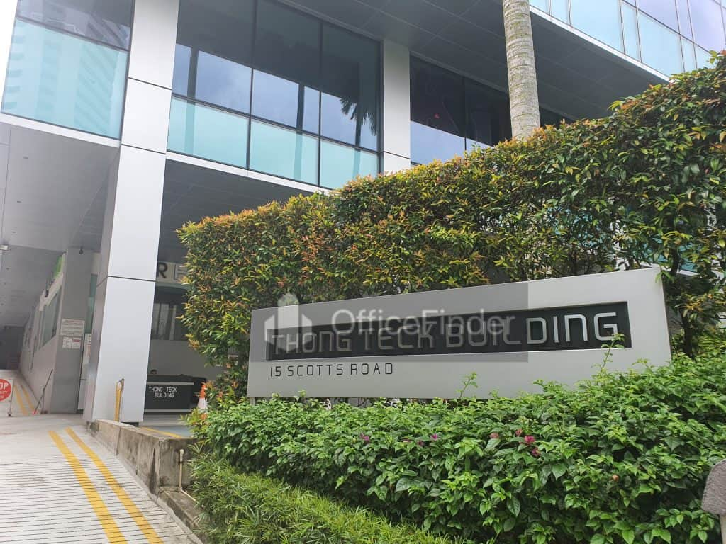 Thong Teck Building Office for Rent