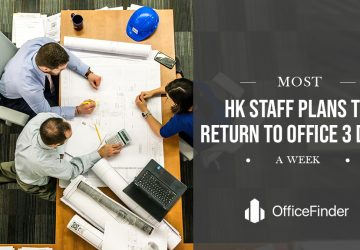 Most HK Staff Plans To Return To Office