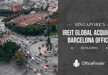 IREIT Global Acquires Barcelona Office