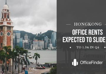 HK Office Rents Expected To Slide Up